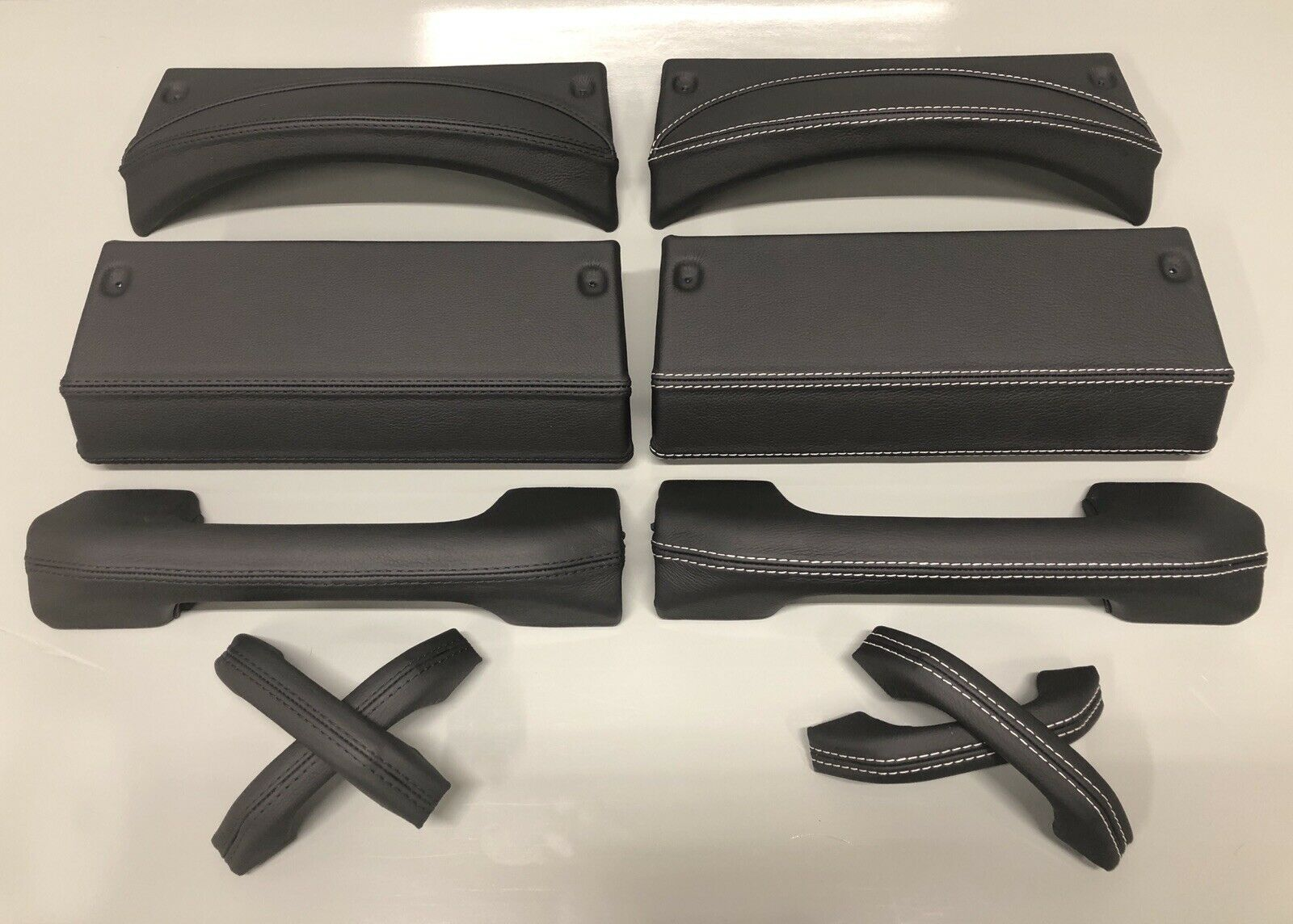 Land Rover Defender Black Leather Dash Trims Amp Door